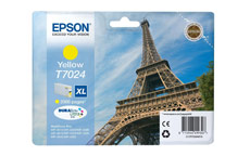 Epson T7024 Inkjet Cartridge Eiffel Tower XL High Capacity Page Life 2000pp Yellow