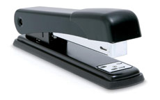 Rapesco 545 Stapler Full Strip Metal Black