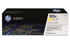 Hewlett Packard No. 305A Laser Toner Cartridge Page Life 2600pp Yellow