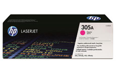 Hewlett Packard No. 305A Laser Toner Cartridge Page Life 2600pp Magenta