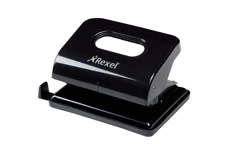 Rexel Ecodesk Punch 2-Hole Metal Long-handled Capacity 20x 80gsm Black