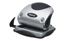 Rexel P215 Punch 2-Hole with Nameplate Capacity 15x 80gsm Silver and Black