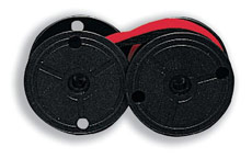 Kores Compatible Ribbon Twinspool Black and Red [Carma 1024]