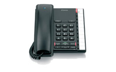 BT Converse 2200 Telephone Wall-mountable 10 Number Memory Black