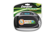 Energizer Universal Battery Charger with Smart LED 2-5Hrs Charging Time for AAA AA C D 9V