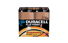 Duracell Plus Power Battery Alkaline 9V