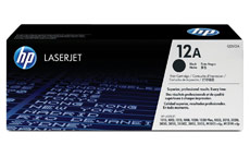 Hewlett Packard No. 12A Laser Toner Cartridge Page Life 2000pp Black