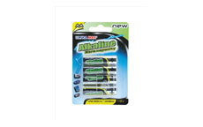 White Box Alkaline Batteries AA [Pack 4]
