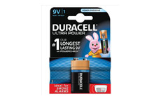Duracell Ultra Power MX1604 Battery Alkaline 9V