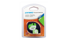 Dymo LetraTag Tape Paper 12mmx4m Pearl White