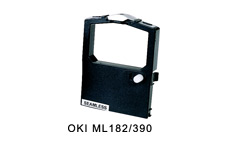 Oki ML182 Compatible Ribbon 2455FN Red/Black
