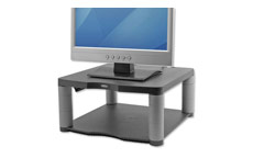 Fellowes Premium Monitor Riser for 21in Capacity 36kg 5 Heights 64-165mm Graphite