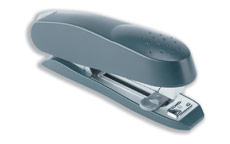 Rapesco Stapler Spinna 717 Full Strip Metal with Paper Guide Capacity 50 Sheets Grey
