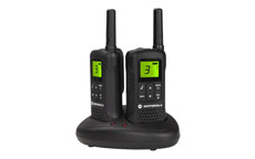 Motorola TLKR-T60 2-way Radios Band PMR446 8 Channels 121 Codes Range 8km