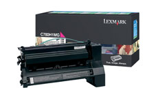 Lexmark Laser Toner Cartridge Return Program High Yield Page Life 10000pp Magenta