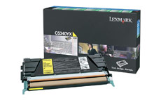 Lexmark Laser Toner Cartridge Return Program Page Life 7000pp Yellow