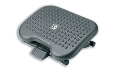 Footrest Tilting Adjustable Charcoal