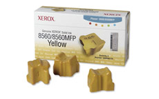 Xerox Ink Sticks Solid Page Life 3400pp Yellow