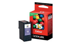 Lexmark No. 15 Inkjet Cartridge Return Program Page Life 150pp Colour