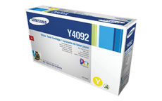 Samsung Laser Toner Cartridge Page Life 1000pp Yellow