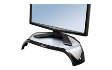 Fellowes Smart Suites TFT Monitor Riser Triangular 3 Height Adjustments Capacity 21in