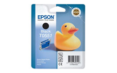 Epson T0551 Inkjet Cartridge Duck Black