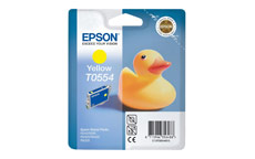 Epson T0554 Inkjet Cartridge Duck Yellow