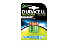 Duracell Stay Charged Battery Long-life Rechargeable 800mAh AAA Size 1.2V