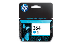 Hewlett Packard No. 364 Inkjet Cartridge Page Life 300pp Cyan