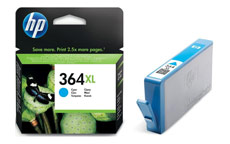 Hewlett Packard No. 364XL Inkjet Cartridge Page Life 750pp Cyan