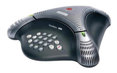 Polycom Voicestation 300 Conference Phone Unit Dynamic Noise Reduction 3 Microphones