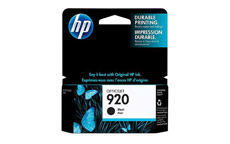 Hewlett Packard [HP] No. 920 Inkjet Cartridge Page Life 420pp Black