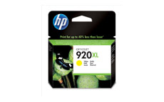 Hewlett Packard [HP] No. 920XL Inkjet Cartridge Page Life 700pp Yellow