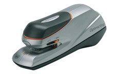 Rexel Optima Grip Electric Stapler Mains or 6x AA Battery No. 56 26/6 Capacity 20x 80gsm