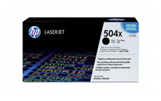 Hewlett Packard [HP] No. 504X Laser Toner Cartridge Page Life 10500pp Black