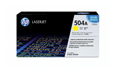 Hewlett Packard [HP] No. 504A Laser Toner Cartridge Page Life 7000pp Yellow