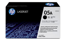 Hewlett Packard No. 05A Laser Toner Cartridge Page Life 2300pp Black