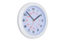 Controller Wall Clock Diameter 220mm White