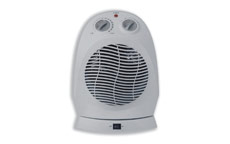 Fan Heater Oscillating with Safety Cut Out 3 Settings