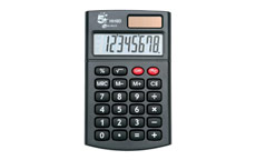 5 Star Calculator Handheld 8 Digit 3 Key Memory Battery-power W56xD100xH8mm