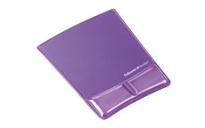 Fellowes 9183501 Crystal Mouse Pad & Wrist Support