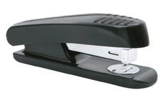 5 Star Stapler Half Strip Plastic Capacity 20 Sheets Black