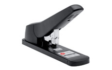 5 Star Stapler Heavy Duty Office Lever Arm All-Steel Capacity 100 Sheets Black