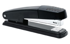 5 Star Stapler Full Strip Metal Top and Base Top Loading Capacity 20 Sheets Black