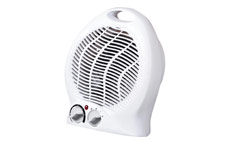 Fan Heater with Thermostat Three Settings 800W 1.2kW 2kW