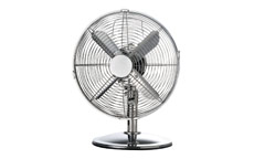 Desk Fan Oscillating 48.5Db 3-Speed 45 Watts Chrome