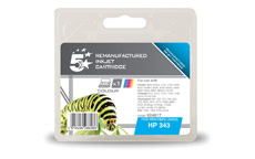 5 Star Compatible Inkjet Cartridge Page Life 260pp Colour [HP No. 343 C8766EE Alternative]
