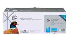 5 Star Compatible Laser Toner Cartridge Page Life 1400pp Cyan [HP No. 125A CB541A Alternative]
