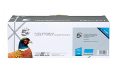 5 Star Compatible Laser Toner Cartridge Page Life 1300pp Cyan [HP No. 128A CE321A Alternative]