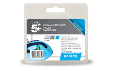 5 Star Compatible Inkjet Cartridge Page Life 700pp Cyan [HP No. 920XL CD972AE Alternative]